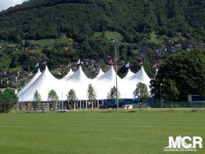 Outdoor Zelt Vermietung von Großzelten