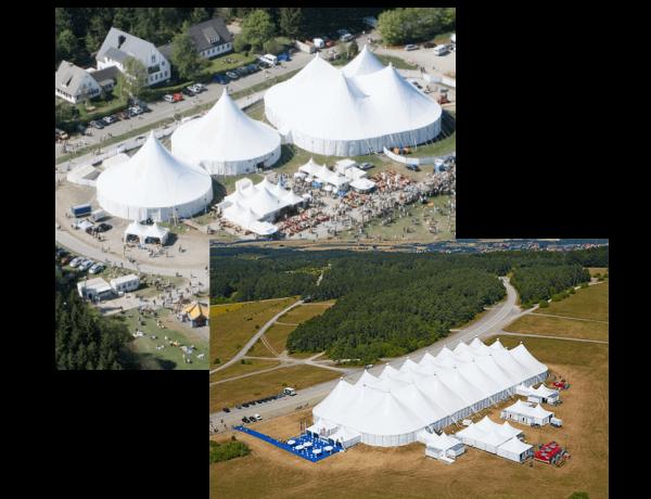 Großzelte Vermietung - MCR Zelte