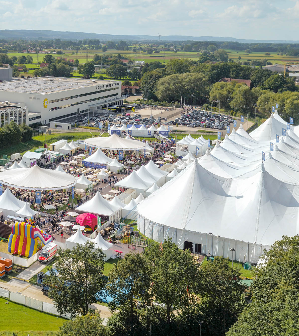 Open Air Zelte fuer Events